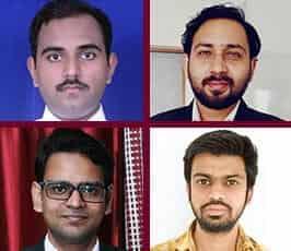 Abhinav Nair, Tushar Bansal, Sumit Sharma, Manish Chauhan
