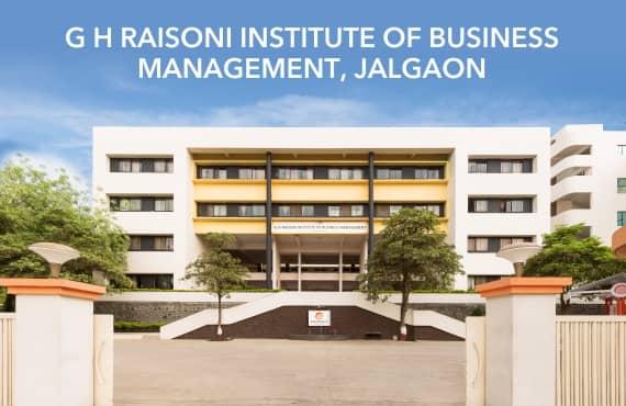 G H Raisoni Institute of Business Management, Jalgaon