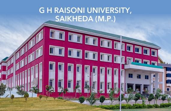 G H Raisoni University, Saikheda