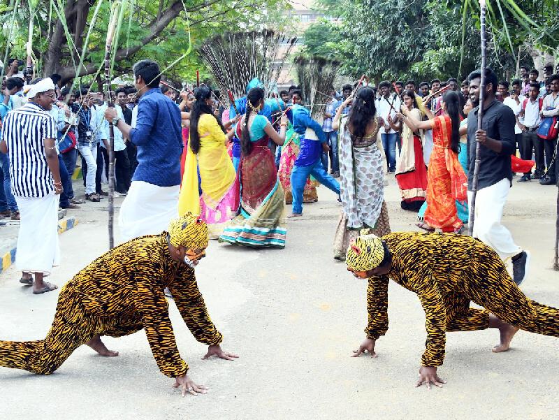 Pongal Celebration @ Vel Tech