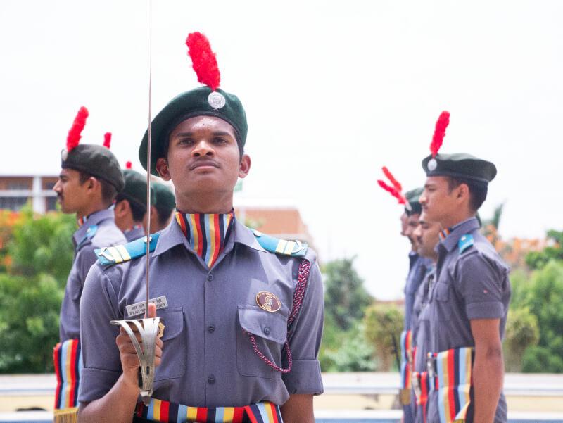 NCC Cadets of VelTech